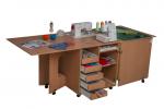 Стол для швейной машины и оверлока Комфорт 1Q+